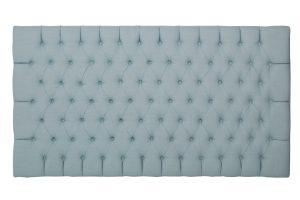 Deep Buttoned Upholstered Headboard