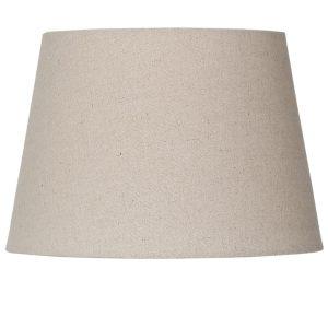 Medium Linen Tapered Drum Lamp Shade