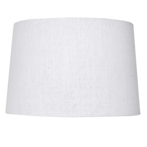 Extra Small White Tapered Drum Lamp Shade