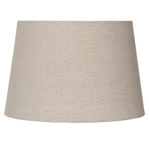 Small Linen Tapered Drum Lamp Shade