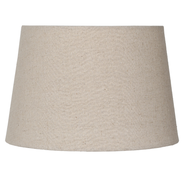 small linen tapered drum lamp shade. Black Bedroom Furniture Sets. Home Design Ideas