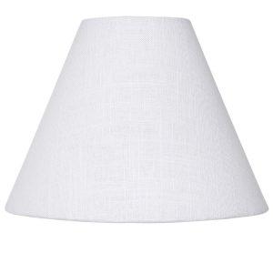 Small White Cone Lamp Shade